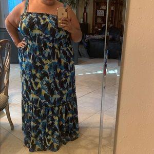 Lane Bryant Strapless Maxi Dress